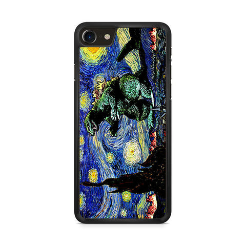 Godzilla Starry Night Iphone 8 Case