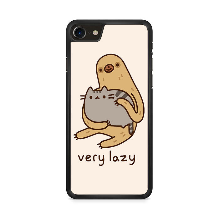 size 40 1dcb7 4cb4d Pusheen Cat And Sloth Very Lazy Iphone 8 Case