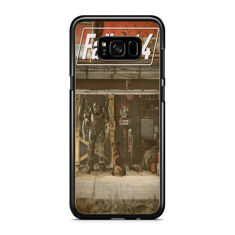 Fallout 4 Red Rocket Samsung Galaxy S8 Plus Case