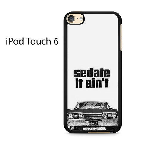 1966 Oldsmobile 442 Sedate It Aint Ipod Touch 6 Case