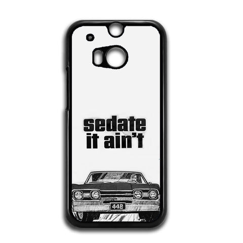 1966 Oldsmobile 442 Sedate It Aint HTC One M8 Case