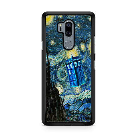 Doctor Who Van Gogh Starry Night Tardis LG G7 Thinq