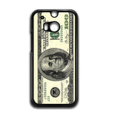 100 Dollars HTC One M8 Case