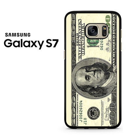 100 Dollars Samsung Galaxy S7 Case