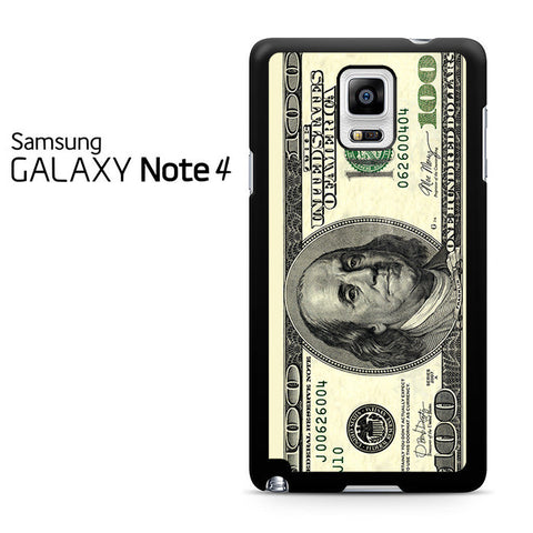 100 Dollars Samsung Galaxy Note 4 Case