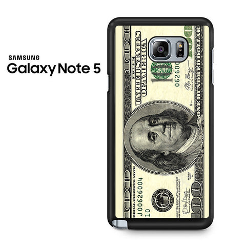 100 Dollars Samsung Galaxy Note 5 Case