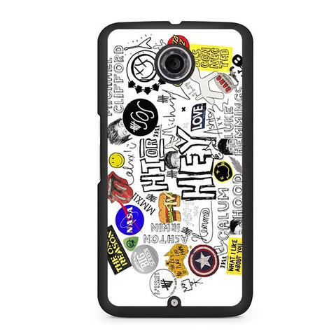5 Seconds Of Summer Hi Or Hey Nexus 6 Case