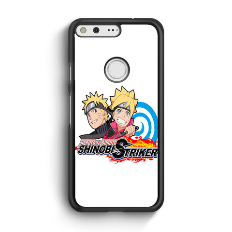 Naruto To Boruto Shinobi Striker Logo Google Pixel XL Case