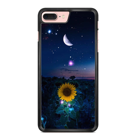 Sunflower Under The Moon Iphone 7 Plus Case