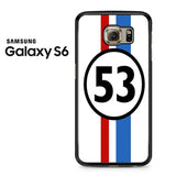 53 Martini Racing Team Samsung Galaxy S6 Case