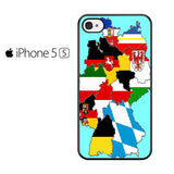 A map Of Germany Iphone 5 Iphone 5S Iphone SE Case