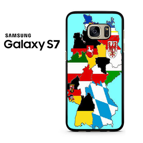A Map Of Germany Samsung Galaxy S7 Case