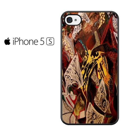Abstract Painting Iphone 5 Iphone 5S Iphone SE Case