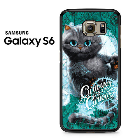 Alice Through The Looking Glass Cat Samsung Galaxy S6 Case