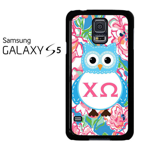 Alpha And Omega Lily Pulitzer Samsung Galaxy S5 Case