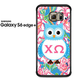 Alpha And Omega Lily Pulitzer Samsung Galaxy S6 Edge Plus Case