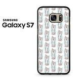 American Shorthair Happy Pattern Samsung Galaxy S7 Case