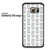 American Shorthair Happy Pattern Samsung Galaxy S6 Edge Case