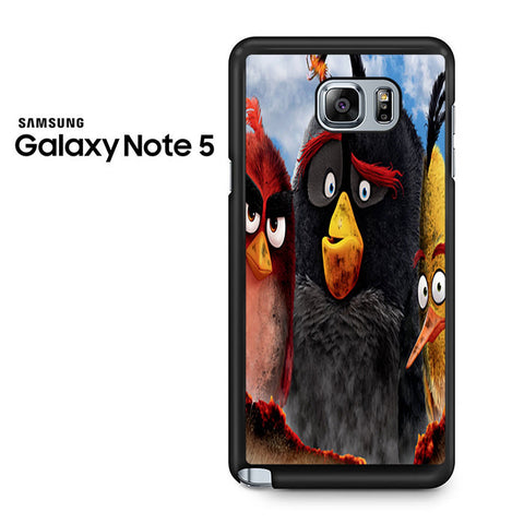 Angry Bird Movie Poster Samsung Galaxy Note 5 Case