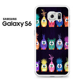 Angry Birds Movie Pattern Samsung Galaxy S6 Case