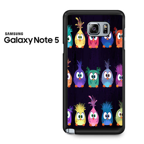 Angry Birds Movie Pattern Samsung Galaxy Note 5 Case