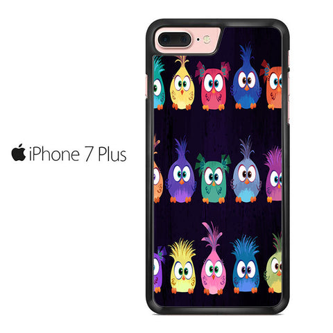 Angry Birds Movie Pattern Iphone 7 Plus Case