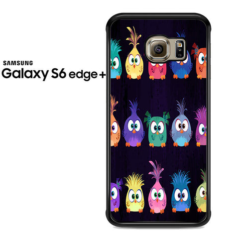 Angry Birds Movie Pattern Samsung Galaxy S6 Edge Plus Case