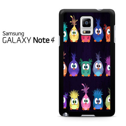 Angry Birds Movie Pattern Samsung Galaxy Note 4 Case
