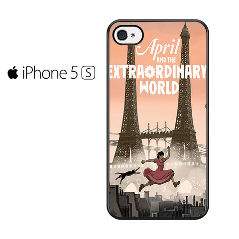 April And The Extraordinary World Iphone 5 Iphone 5S Iphone SE Case