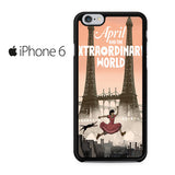 April And The Extraordinary World Iphone 6 Iphone 6S Case