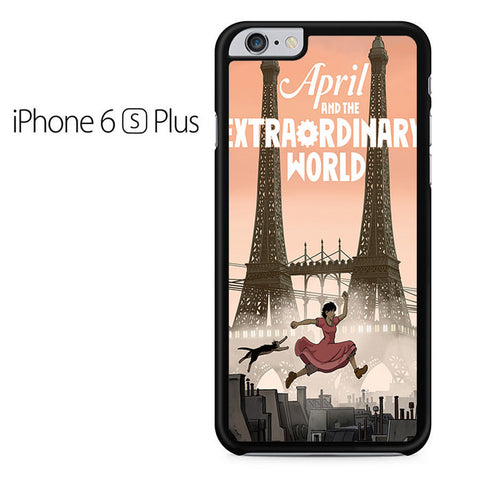 April And The Extraordinary World Iphone 6 Plus Iphone 6S Plus Case