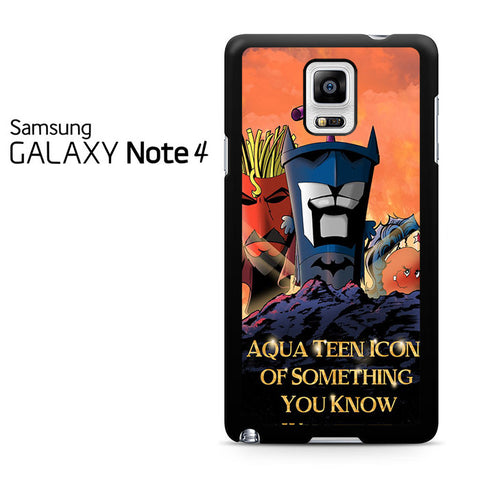 Aqua Teen Hunger Force Quote Samsung Galaxy Note 4 Case