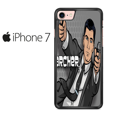 Archer And Pistolls Iphone 7 Case
