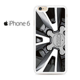 AUDI Wheel Design Iphone 6 Iphone 6S Case