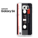 Audio Cassete Tapes Samsung Galaxy S6 Case