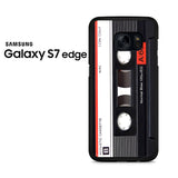 Audio Cassete Tapes Samsung Galaxy S7 Edge Case