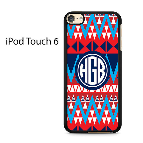 Aztec Monogram Ipod Touch 6