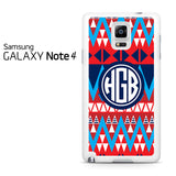 Aztec Monogram Samsung Galaxy Note 4 Case
