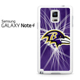 Baltimore Ravens Logo Samsung Galaxy Note 4 Case
