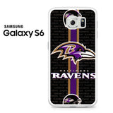 Baltimore Ravens Strip Samsung Galaxy S6 Case