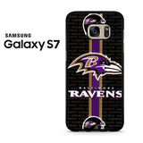 Baltimore Ravens Strip Samsung Galaxy S7 Case