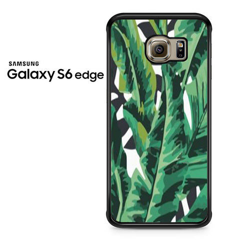 Banana Leaves Samsung Galaxy S6 Edge Case