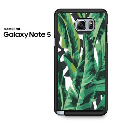 Banana Leaves Samsung Galaxy Note 5 Case