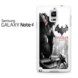 Batman Arkham City 2 Samsung Galaxy Note 4 Case