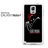 Batman Red Samsung Galaxy Note 4 Case