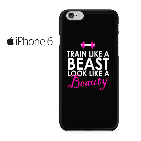Beast And Beauty Quote Iphone 6 Iphone 6S Case