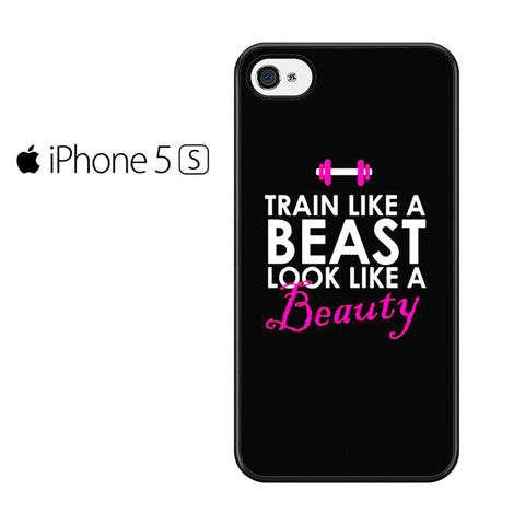 Beast And Beauty Quote Iphone 5 Iphone 5S Iphone SE Case