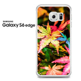 Beautiful Maple Leaves Samsung Galaxy S6 Edge Case