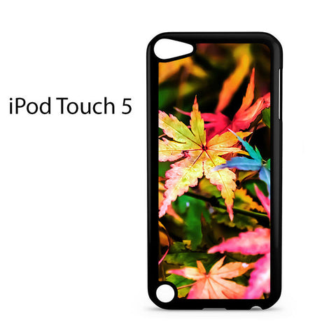 Beautiful Maple Leaves Ipod Touch 5