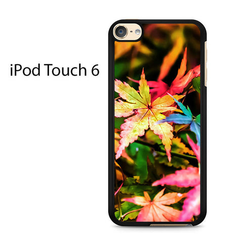 Beautiful Maple Leaves Ipod Touch 6